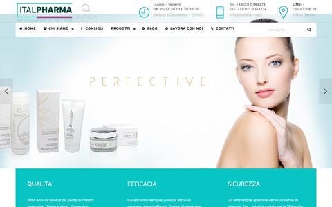 Screenshot of Privacy Page italpharma.it - Homepage Quinoa Dermocosmetic - Prodotti per la cura della pelleQuinoa Dermocosmetic — Prodotti per la cura della pelle - captured Oct. 13, 2018