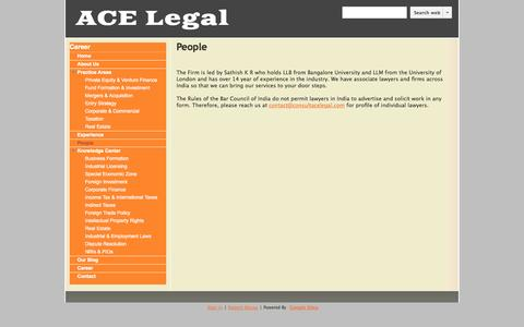 Screenshot of Team Page consultacelegal.com - People - ACE Legal - captured Oct. 4, 2014