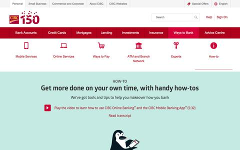 How-to | CIBC