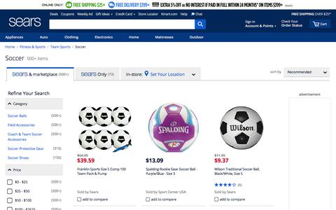 Soccer Gear | Soccer Equipment - Sears