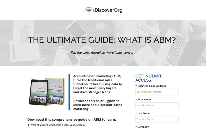 The Ultimate Guide: What is ABM? | DiscoverOrg