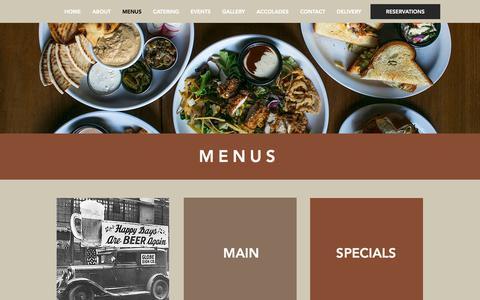 Screenshot of Menu Page jerryssandwiches.com - Jerry's Sandwiches | Best Sandwiches in Chicago - captured Oct. 19, 2018
