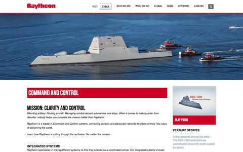 Raytheon: Command and Control