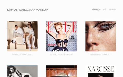 Damian Garozzo / makeup
