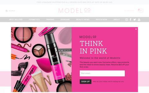 Screenshot of Login Page modelcocosmetics.com - Customer Login  | ModelCo - captured Oct. 11, 2017