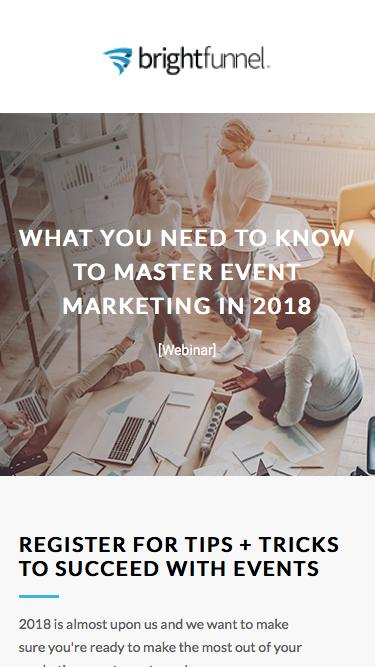 Event Horizons: What You Need to Know To Master Event Marketing in 2018
