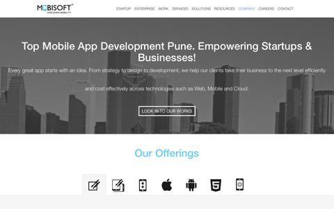 Mobile App Development Pune, India. iOS & Android App Developers