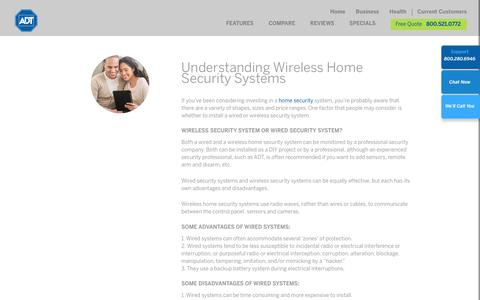 Apartment Security Alarm | Wired Home Security Systems by ADT