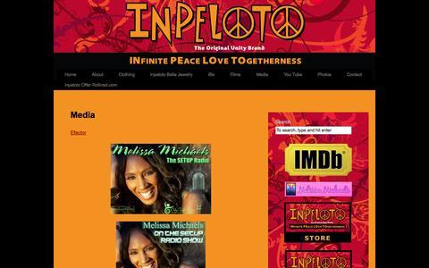 Screenshot of Press Page inpeloto.com - Media | Inpeloto - captured Sept. 30, 2014