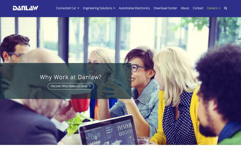 Screenshot of Jobs Page danlawinc.com - Careers | www.danlawinc.com - captured June 3, 2017