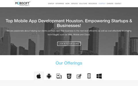 Mobile App Development Houston. iOS & Android App Developers