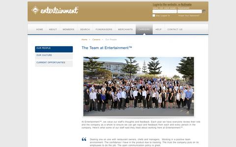 Entertainment Book - Employment - Entertainment Books Australia