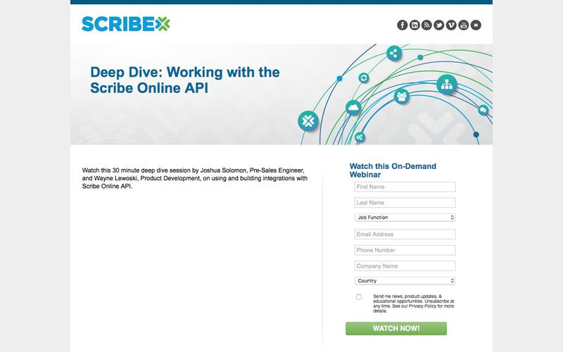 Deep Dive: Working with the Scribe Online API