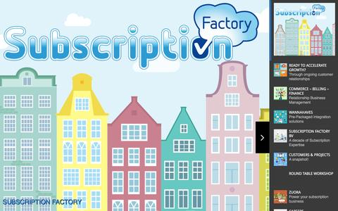 Screenshot of Jobs Page subscriptionfactory.com - Subscription Factory |  Subscription Factory - captured Feb. 16, 2016