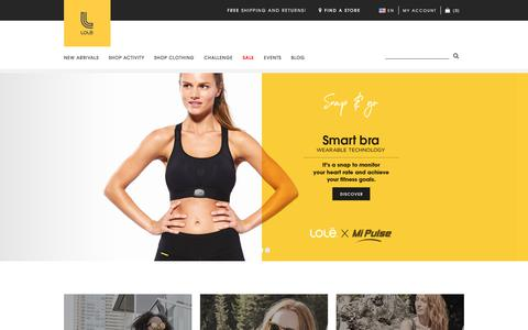 Lolё Activewear clothing for women at lolewomen.com