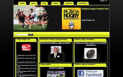 Screenshot of Press Page kadikoyrugby.net - Kadikoy rugby news - captured March 12, 2016