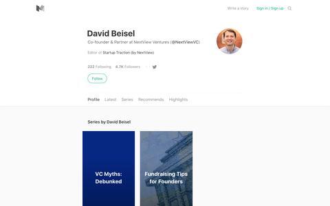 David Beisel – Medium