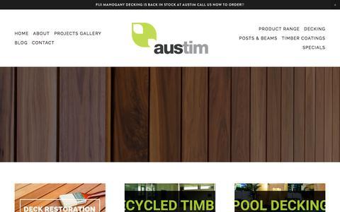 Timber Blog - Austim
