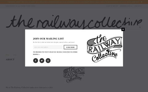 Screenshot of About Page therailwaycollective.com - About – The Railway Collective - captured June 15, 2017