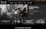 Old Screenshot BigSpeak Speakers Bureau Home Page