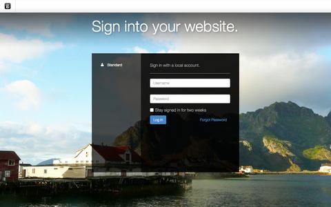 Screenshot of Login Page drgok.com - Delaware Resource Group :: Login - captured Dec. 2, 2015