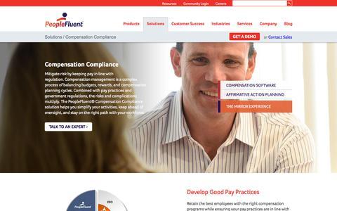 Compensation Planning & Compliance | PeopleFluent