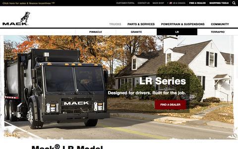 Mack LR Series Garbage Trucks | Mack Trucks