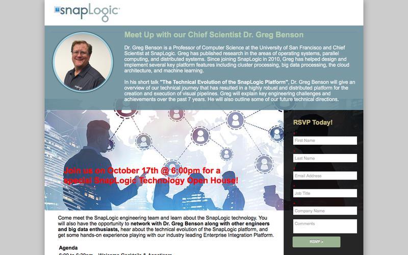 SnapLogic Technology Open House