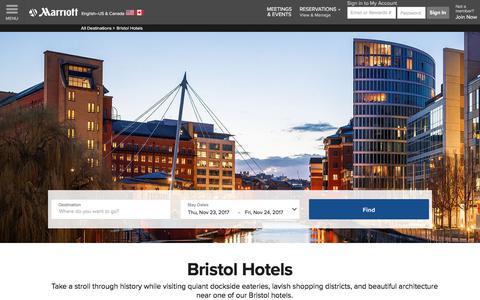 Top Hotels in Bristol | Marriott Bristol Hotels