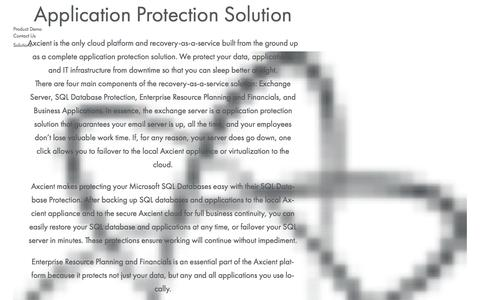 SQL & Exchange Backup | Application Protection | Axcient
