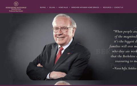 Screenshot of About Page bhhspre.com - About Berkshire Hathaway HomeServices - captured Nov. 13, 2016