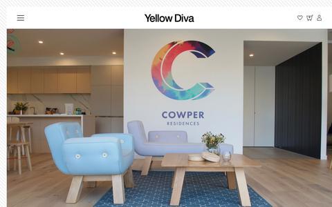 Screenshot of Press Page yellowdiva.com - Press | Yellow Diva - captured Nov. 11, 2017