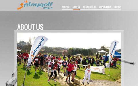 Screenshot of About Page playgolfworld.com - About US | Playgolf World | Changing the face of Golf | Baseball, Footgolf,  Driving Range, Restaurant, Gym, SPA, Academy | Playgolf World - captured Oct. 3, 2014