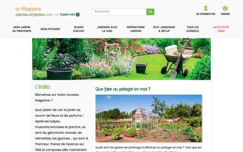 Accueil | Le Magazine — Gamm vert