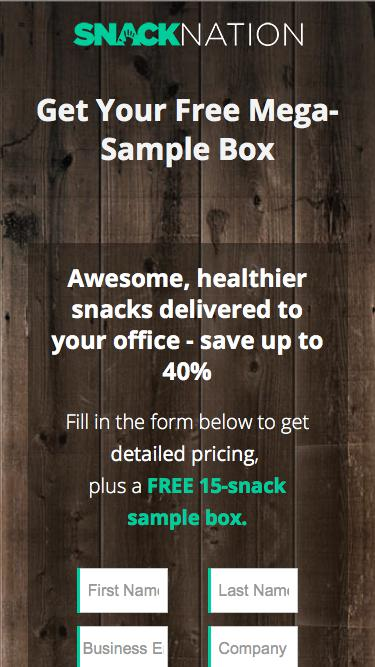 Healthy Snack Delivery Service for Offices | SnackNation