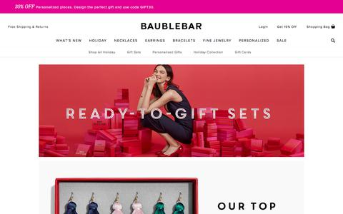 Gift Sets - Holiday   BaubleBar