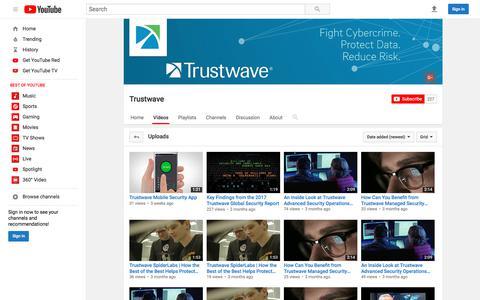 Trustwave  - YouTube