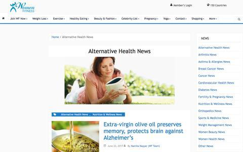 Alternative Health News Archives - Women Fitness