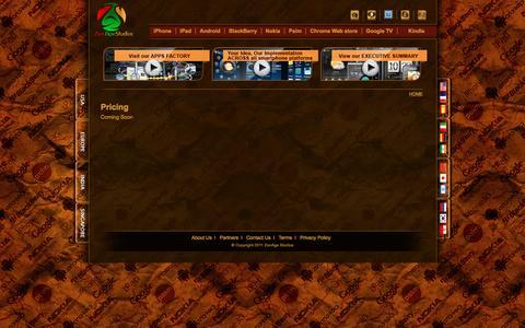 Screenshot of Pricing Page zenagestudios.com - Pricing - captured Aug. 18, 2016