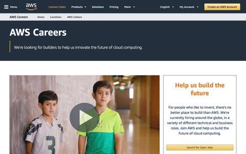 AWS Careers