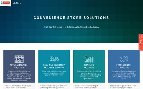 Convenience Store Solutions - Manthan C-Store Suite