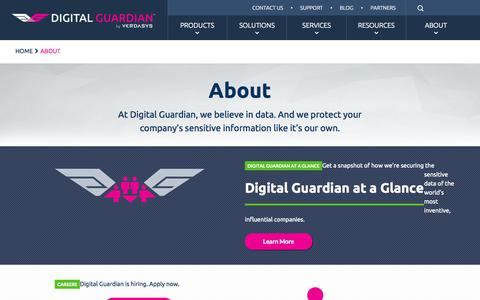 About Digital Guardian (Formerly Verdasys) - Software & Company Information | Digital Guardian