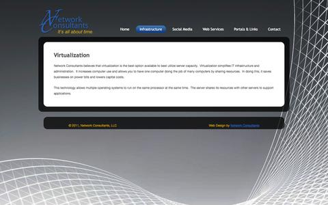 Screenshot of Case Studies Page network-consultants.com - Virtualization  »  Network Consultants, LLC. - captured Oct. 26, 2014