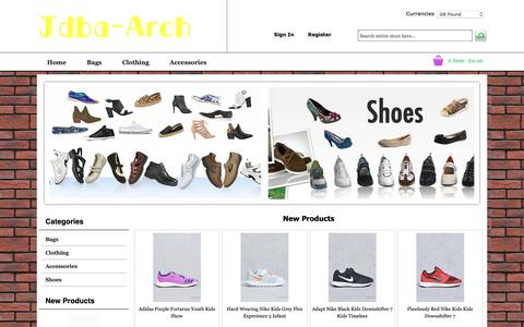 Screenshot of Home Page jdba-arch.com - 2018 Hot Sale,Jewellery,Sandals,Bags,Clothing,Accessories - UK Discount Online Sale - captured Oct. 1, 2018