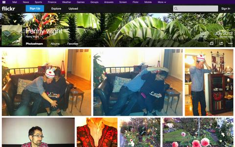 Screenshot of Flickr Page flickr.com - Flickr: Penny Wight's Photostream - captured Oct. 22, 2014
