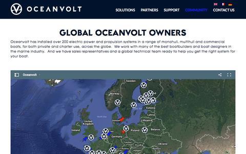 Screenshot of Maps & Directions Page oceanvolt.com - Community - Oceanvolt - captured Nov. 13, 2017