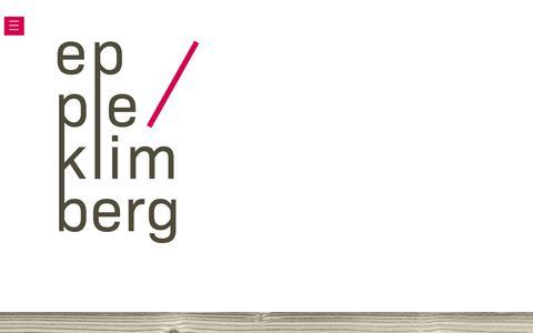 Screenshot of Home Page eppleklimberg.de - EppleKlimberg Architekten PartGmbB - captured June 27, 2018