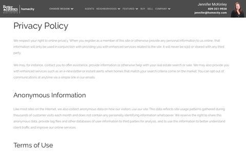 Privacy Policy   HomeCity