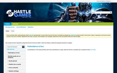 Screenshot of FAQ Page hastlegames.com - Hastle Games -   		 			 			Help - captured July 16, 2018