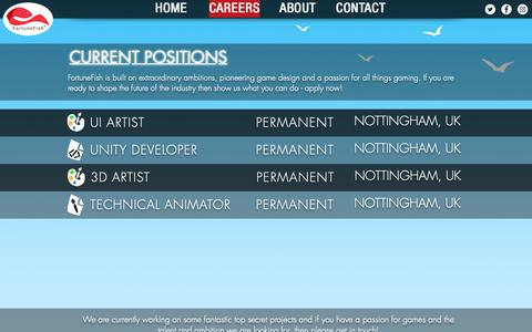 Digital Games Jobs Pages on Wix | Website Inspiration and